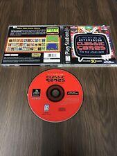 Activision Classics Games ATARI 2600 Sony PlayStation 1 Ps1 1998 Complete Cib