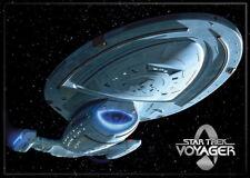 Star Trek Voyager Ship Image Refrigerator Magnet, NEW UNUSED