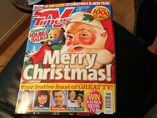 T.V. TIMES CHRISTMAS EDITION 23 DEC 2006 - 5 JAN  2007 . MINT CONDITION