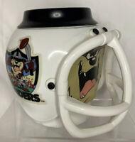 Warner Bros Raiders Looney Tunes Tazmanian Devil Plastic Coffee Mug Taz Vintage