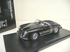 1:18 Autoart Porsche 356A Speedster black schwarz NEU NEW