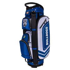 NRL 2018 Golf Club Bag Canterbury Bulldogs - Zip Pockets Umbrella Holster - BNWT