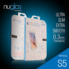Genuine Nuglas Tempered Glass Screen Protector for Samsung Galaxy S5