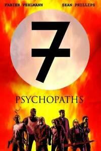 PSYCHOPATHS 7 VEHLMANN PHILLIPS TP BOOM STUDIOS ENTERTAINMENT BOOK PAPERBACK