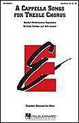 Hal Leonard 08740050BOOK A Cappella Songs for Treble Chorus SA/SSA a cappel