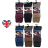 MENS THERMAL BED SOCKS, BRUSHED FOR EXTRA WARMTH, FLEECE, HOUSE SOCKS, SIZE 6-11