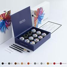 BRONA EYEBROW HENNA Full Kit - 10 colours - Eyebrow Tint / Dye Powder