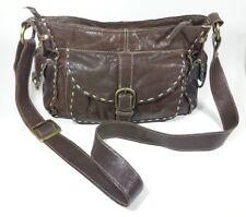 Next dark brown leather handbag 30cm x 21cm