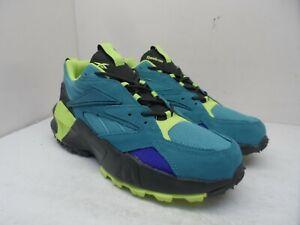 Reebok Men's AZTREK 96 ADVETURE Athletic Sneakers 001001 Black/Multi Size 12M