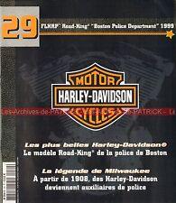 HARLEY DAVIDSON FLHRP 1450 Road King Boston Police Departement 1999 ; HD MOTO