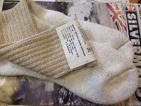 2 X British Army Desert Combat Socks MOD - for Altberg Lowa Meindl boots [71070]