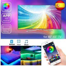 Tira Led TV, Banda RGB LED alimentada por USB para TV de 40 a-60  (4pcs x 50cm)