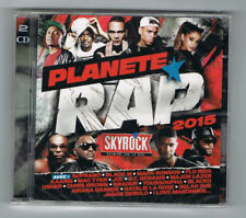 ♫ - PLANÈTE RAP 2015 - VOL. 1 - 2 CD SET - NEUF NEW NEU ♫