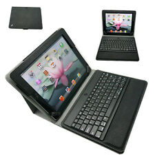 Universal Bluetooth Keyboard and Protective Leather Case for iPad 2, 3,4