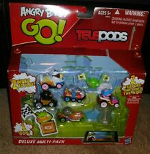 ANGRY BIRDS GO! TELEPODS DELUXE MULTI-PACK * BRAND NEW IN ORIGINAL PACKAGE!