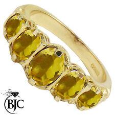 Anniversary Oval Not Enhanced Fine Gemstone Rings