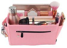 Felt Handbag Organiser Insert Bag Shaper Liner Louis Vuitton Neverfull MM Pink