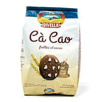 Divella - Cà Cao frollini al cacao in 400 g - Butter Kekse mit Kakao aus Italien