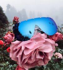 """FULL MASK"" Shield MIrror POLARIZED Lens Women Sunglasses Bolts OWEN RIMLESS"