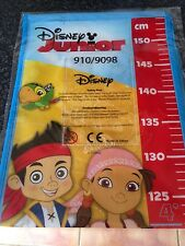 Jake and the Netherlands pirates Disney junior height chart