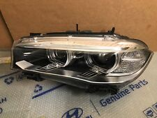OEM 14-16 BMW X5 X6 F15 Headlight HID Xenon LH Left/Driver Side