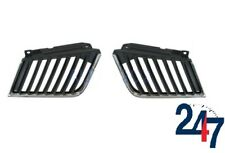 NEW MITSUBISHI L200 2006 - 2010 FRONT TOP GRILLE WITH CHROME SET LEFT + RIGHT