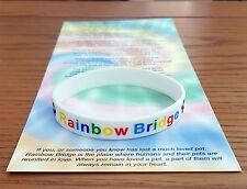 Pont Rainbow Bracelet Pet perte Memoriam/dans la mémoire/CHIEN/CHAT objet 3