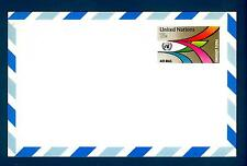 ONU - NAZIONI UNITE (NEW YORK) - 1976 - Cartolina postale aerea. 18c
