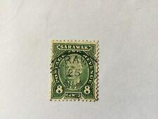 1895 Malaya Malaysia Sarawak 8c. CV Rm 30