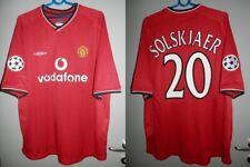 Shirt Manchester United 2000-2001-2002 Solskjaer Jersey Champions League Trikot