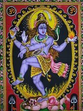 Tapestry Wall Lord Dancing Shiva Indian Hanging Decor Cotton Ethnic Poster dorm
