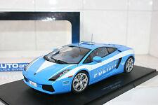 1:18 Autoart Lamborghini Gallardo Police Polizia 74576