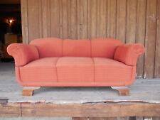 Gründerzeit~1900 2 Sitzer Küchen-Sofa Spiralfedern Terracotta Lief-100km 50,€