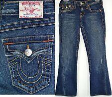 TRUE RELIGION Women's Denim Pants 10-503J Joey Twisted Seams Flare BootCut Sz 26