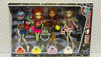 WALMART EXCLUSIVE 2012 Mattel Monster High Ghouls Night Out 4 Doll Set BBR96