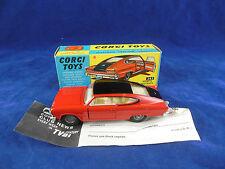 Corgi toys 263 Marlin By Rambler Sports Fastback  Original and Superb