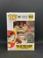 Funko POP! Taz as The Flash #844 DC Looney Tunes FYE Exclusive