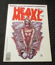 1988 HEAVY METAL Magazine v.12 #3 Guido Crepax VF+