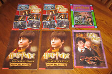 Harry Potter Stained Glass Art Book Poster Chamber of Secrets Sorcerer's Stone