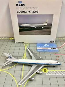BigBird KLM Royal Dutch Airlines Boeing 747-200 1:400 PH-BUD (Limited 480 pcs)