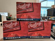 [LOT OF 3 DOZEN] Rawlings FSOLB1 Official League Baseballs