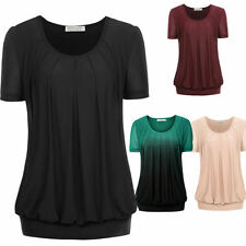 Short Sleeve Unbranded Machine Washable Multi-Colored T-Shirts for Women