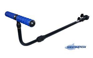MDI Match Ext  Adjustable Tilt 60-95cm Fishing Feeder-Method Arm & Blue Rest
