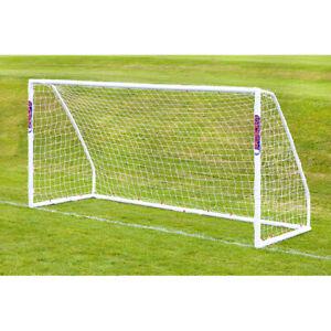 Samba Football Soccer Match Goal Post (12' x 6') + Net, Clips - 1 Goal
