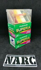 2 x Fujifilm Superia 200 35mm expired film world cup edition