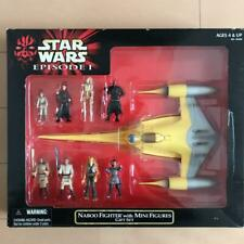 Star Wars EP1 Minifigure Naboo Fighter with Mini Figures Gift SET From Japan
