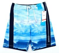 Speedo Speedry Flx System Blue Stretch Water Shorts Boardshorts Men's NWT