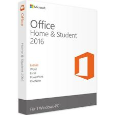 Microsoft Office Home and Student 2016 - New - Full Version - Download