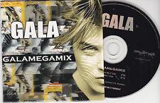 TRES RARE CD CARTONNE CARDSLEEVE 2 TITRES GALA GALAMEGAMIX 1999 MADE IN FRANCE