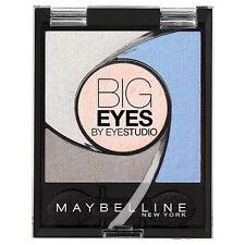 "MAYBELLINE NEW YORK ~ BIG EYES EYESHADOW QUAD ~ ""LUMINOUS BLUE"" ~ RRP $16.95"